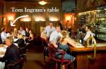 Ingram's table at Jimmy Kelly's