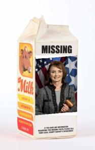 Harwell milk carton