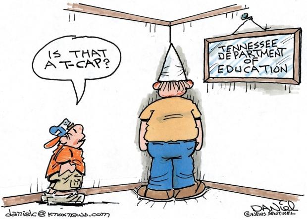 TCAP cartoon