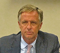 "Bill Haslam practicing his ""mean"" look to scare legislators."
