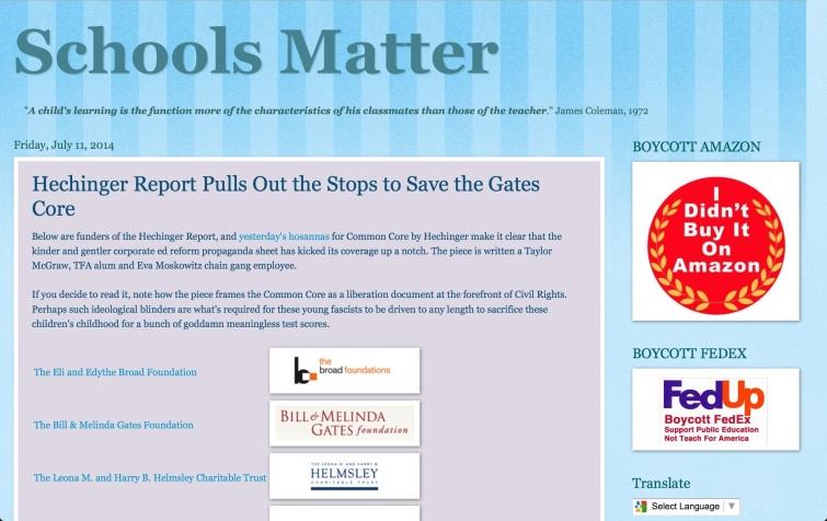 schools matter