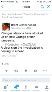 Leatherwood Tweet edited